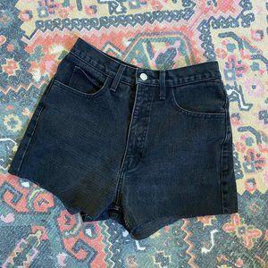 Vintage Guess Jeans Cut Off Shorts High Waist